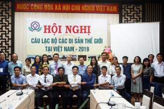BQL Vườn Quốc gia Phong Nha – Kẻ Bàng tham dự Hội nghị giao ban Câu lạc bộ Di sản thế giới tại Việt Nam
